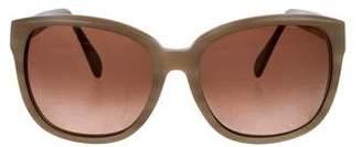Benjamin Eyewear Oversize Gradient Sunglasses