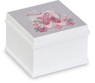 Mele Kirsten Wooden Musical Ballerina Jewelry Box