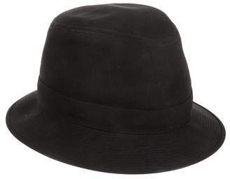 Hermes Embroidered Fedora Hat