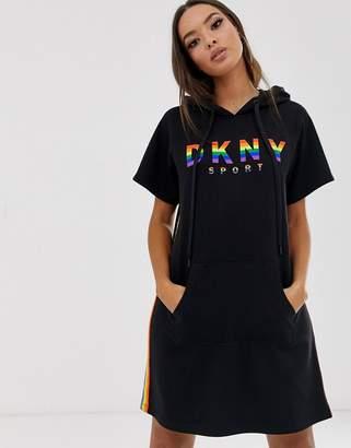 DKNY pride sweater dress