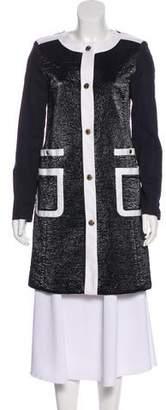 MICHAEL Michael Kors Structured Knee-Length Coat