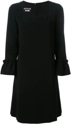 Moschino ruched sleeve dress