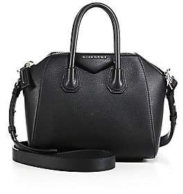 Givenchy Women's Mini Antigona Leather Satchel