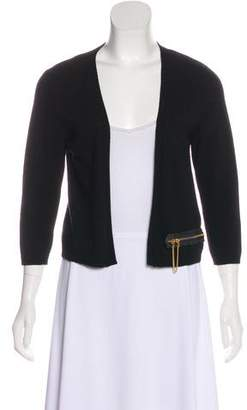 Schumacher Dorothee Cropped Knit Cardigan