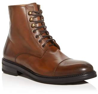 Bloomingdale's The Men's Store at Men's Livorno Leather Cap-Toe Boots - 100% Exclusive