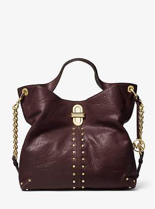 Michael Kors Uptown Astor Legacy Large Leather Shoulder Tote Bag