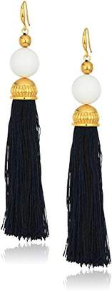 Trina Turk Women's Beads in Bloom Tassel Drop Earrings