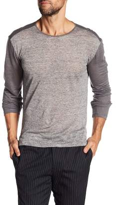 John Varvatos Collection Crew Neck Long Sleeve Knit Pullover