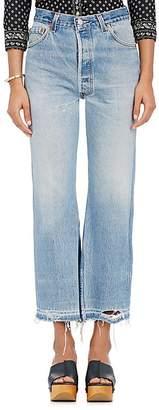 RE/DONE Women's Leandra Crop Flared Levi's® Jeans