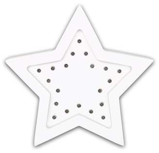 The Peanut Shell Star Marquee Wall Light