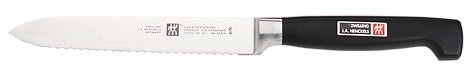 "Zwilling J.A. Henckels Four Star® 5"" Serrated Utility Knife"