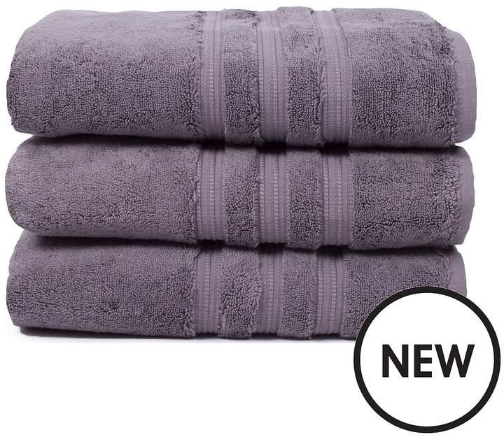 Luxury Ultra Loft Pima Cotton 800 Gsm Towel Range – Magnesium