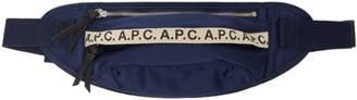 A.P.C. Navy Lucille Hip Bag