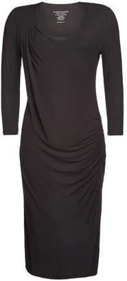 Majestic Draped Jersey Dress