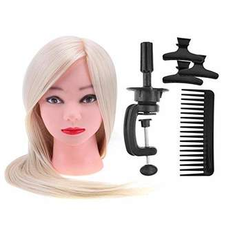 styling/ Gowind7 Salon Hair Clips Training Tool Set Comb Bracket Mannequin Head Hair Styling