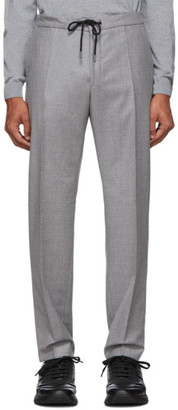 BOSS Light Grey Banks Travel Trousers