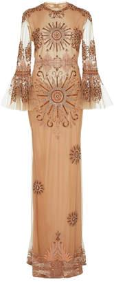 Cucculelli Shaheen Aurora Backless Dress