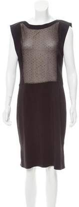 L'Agence Embellished Shift Dress