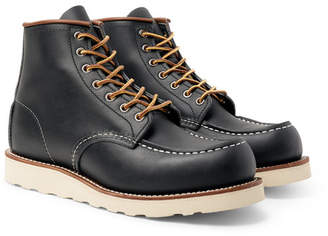 Red Wing Shoes 8859 Moc Leather Boots - Men - Midnight blue
