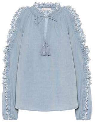 Ulla Johnson Amandine cotton poplin blouse