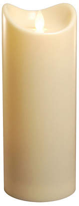 "Jh Specialties Inc/lumabase Lumabase 9"" Cream Battery Operated LED Candle with Moving Flame"