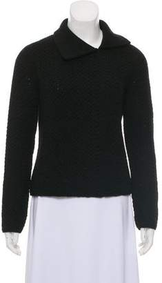 Narciso Rodriguez Virgin Wool Long Sleeve Sweater