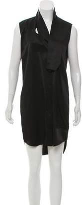 Victoria Beckham Sleeveless Shirt Dress