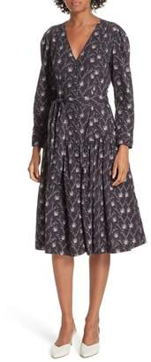 Rebecca Taylor Drop Waist Shirtdress