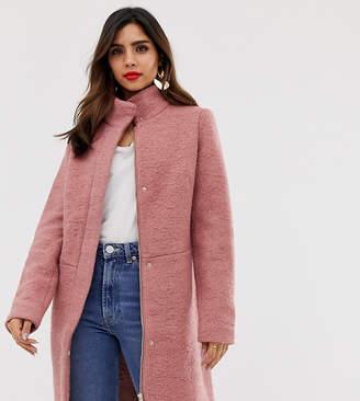 Vila funnel neck coat