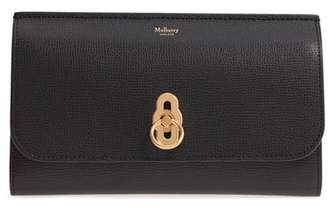 Mulberry Amberley Calfskin Leather Clutch