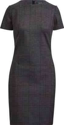 Ralph Lauren Plaid Ponte Dress