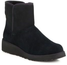 UGG Kristin Classic Slim Short Wedge Boots $150 thestylecure.com