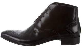 Just Cavalli Leather Ankle Boots w/ Tags