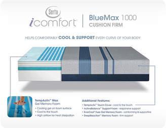 Serta ICOMFORT iComfort Blue Max 1000 Cushion Firm Mattress + Box Spring