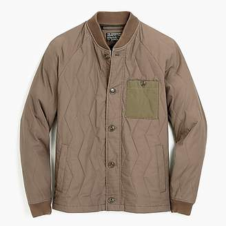 J.Crew Quilted jacket in ripstop cotton