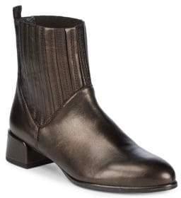 Stuart Weitzman Slash Syrnap Metallic Ankle Boots