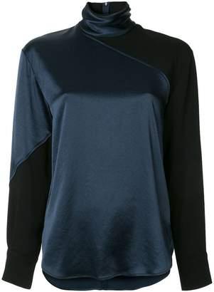 Cédric Charlier high neck blouse
