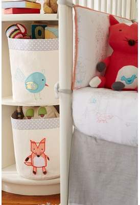 The Little Acorn Small 3-D Fox Storage Cubes & Bins