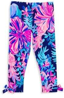 Lilly Pulitzer Girl's Floral Leggings