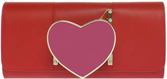 Perrin Paris Heart Glove Clutch Bag