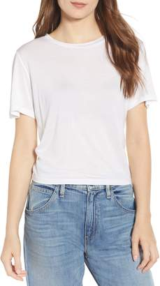 Hudson Jeans Ruched Back Tee