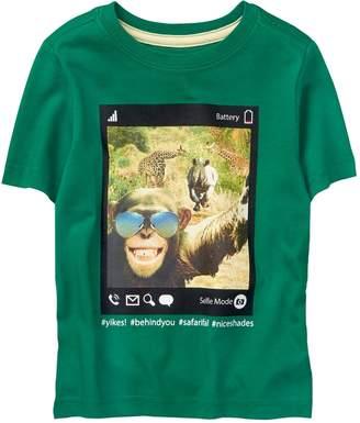 Crazy 8 Crazy8 Monkey Selfie Tee