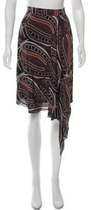 Sophie Theallet Printed Silk Skirt