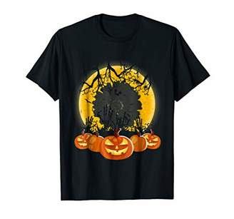 Calendula Flower Pumpkin Shirt Halloween