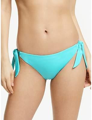 John Lewis & Partners Sunset Smooth Bunny Tie Bikini Bottoms