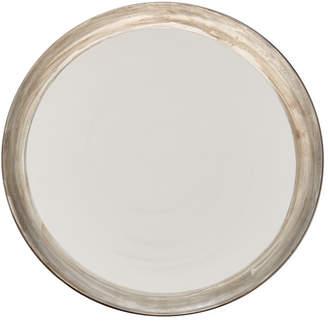 Glamorous Alex Papachristidis Exclusive Moderne Silver Rim Charger