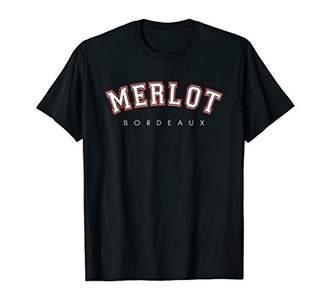 Wine T Shirt Merlot Bordeaux XO4U Original