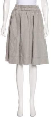 Marc Jacobs Linen Circle Skirt