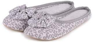 Isotoner Ladies Jersey Mule Slipper
