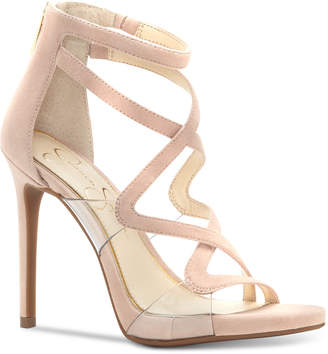 Jessica Simpson Roelyn Lucite Sandals Women's Shoes $110 thestylecure.com